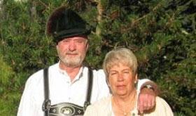 Die Bergruh Pioniere Heinz und Gisela