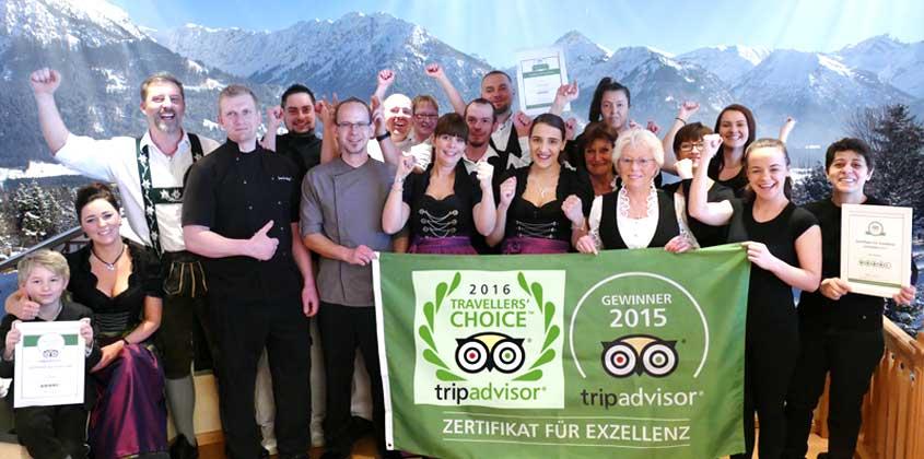 Das Hotel Bergruh Team
