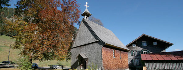 St. Anna Kapelle bei Oberstdorf - Hotel Bergruh