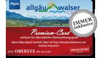 Hotel Bergruh Oberstdorf Allgäu Walser Premium Card