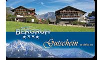 Hotel Bergruh Oberstdorf - Geschenkgutschein
