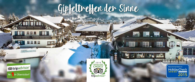 Hotel Bergruh Oberstdorf Allgaeu Travelers Choice Award