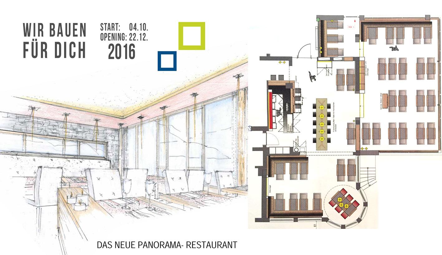 Das neue Panorama Restaurant