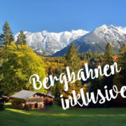 Herbst Bergbahnen inklusive