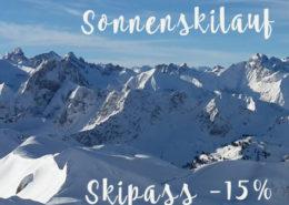 Sonnenskilauf – Skipass -15%