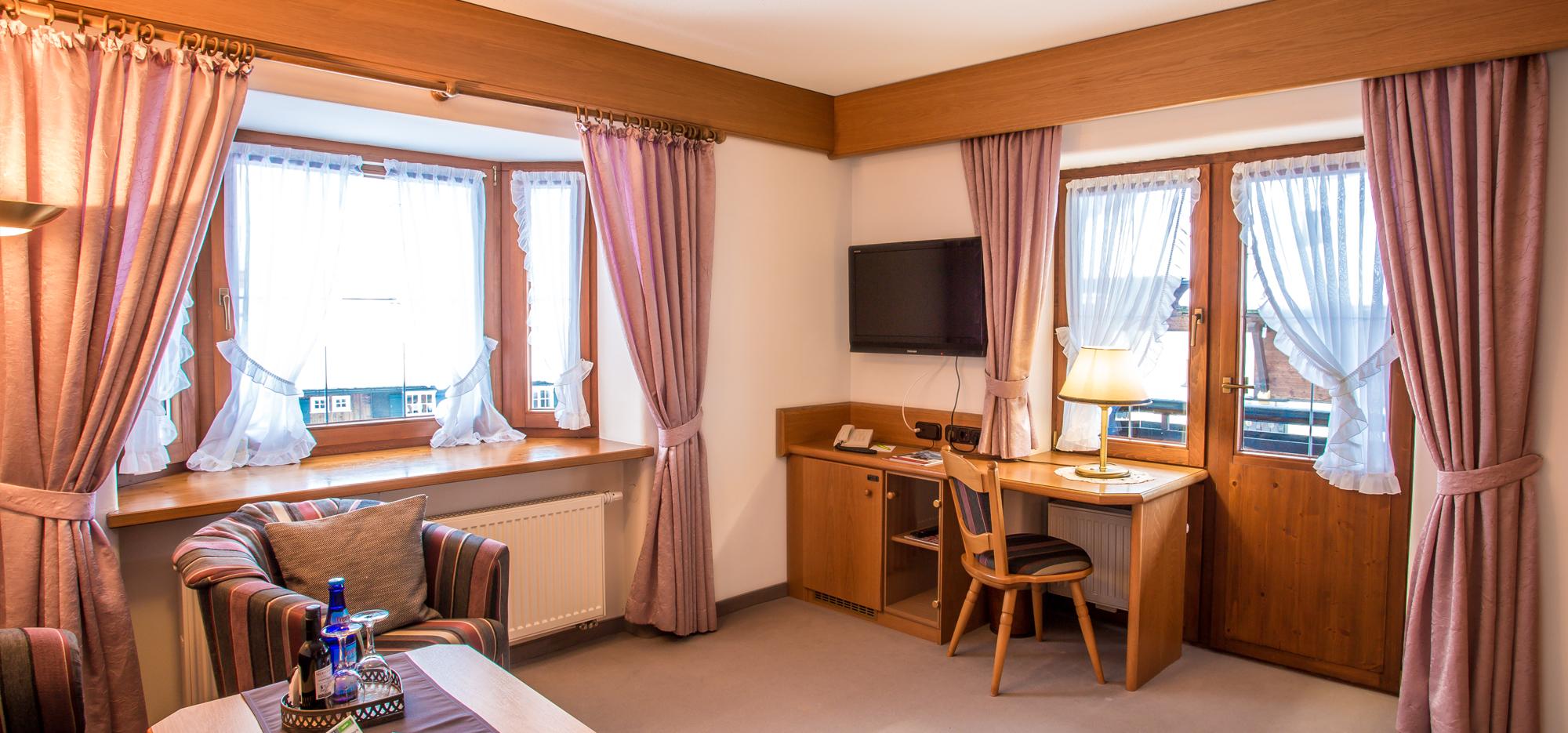 Bergruh Suite Wohnzimmer