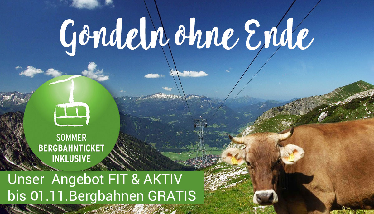 Bergbahnen Inklusive Hotel Bergruh Oberstdorf