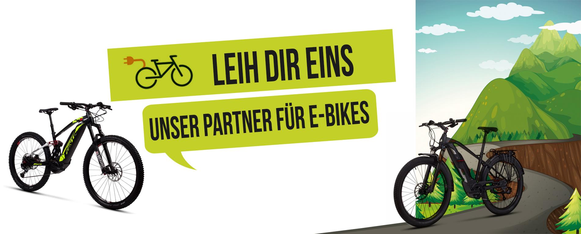 e-bike verleih